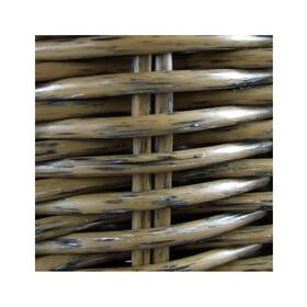 KlickFix Structura Fietskoffer- & Mand retro olijf
